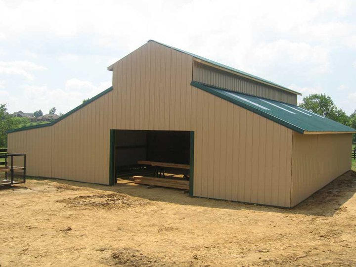 Western Raised Pole Barn